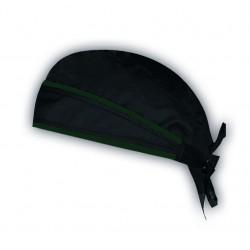 Bandana schwarz/grün