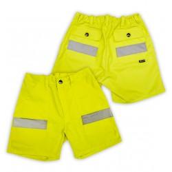 Warnschutz Short gelb