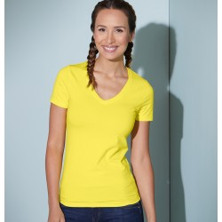 "Damen V-Neck T-Shirt ""JN04""..."