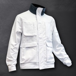 "Bundjacke ""INDUSTRIAL"" white"