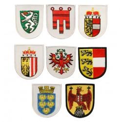 Gestickte Embleme Bundesländer
