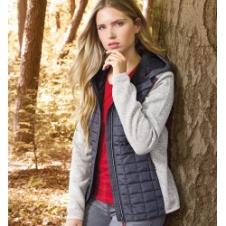 Damen Hybrid Strickjacke...