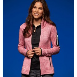 "Damen ""Strickfleece Jacke..."