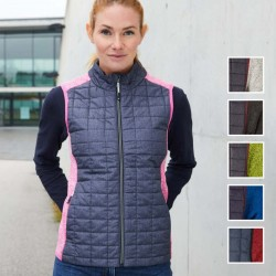 Damen Hybrid Strickfleece...