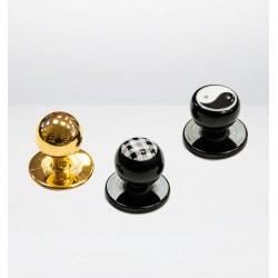 Steckknöpfe in gold /...